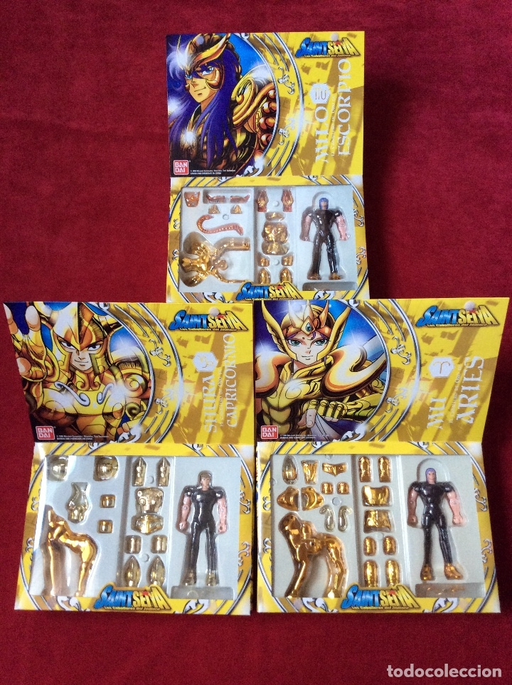 Figuas y Muñecos Caballeros del Zodiaco: Caballeros del zodiaco Saint Seiya Bandai - Foto 4 - 110911223