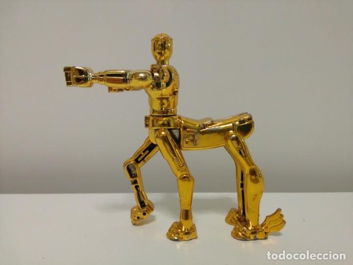 Figuas y Muñecos Caballeros del Zodiaco: Soporte para armadura Caballero de oro de Sagitario con defecto Caballeros del Zodiaco Saint Seiya - Foto 2 - 167910360