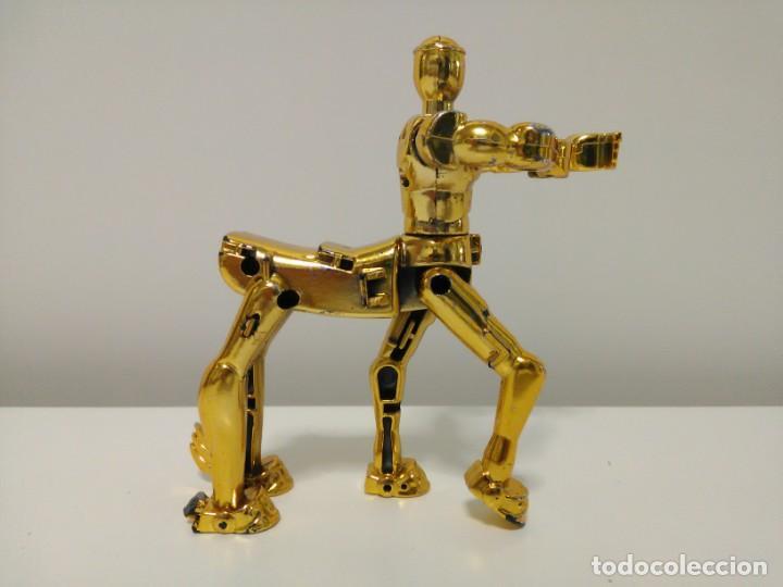 Figuas y Muñecos Caballeros del Zodiaco: Soporte para armadura Caballero de oro de Sagitario con defecto Caballeros del Zodiaco Saint Seiya - Foto 5 - 167910360