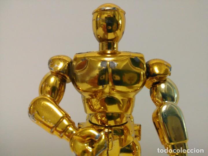 Figuas y Muñecos Caballeros del Zodiaco: Soporte para armadura Caballero de oro de Sagitario con defecto Caballeros del Zodiaco Saint Seiya - Foto 7 - 167910360