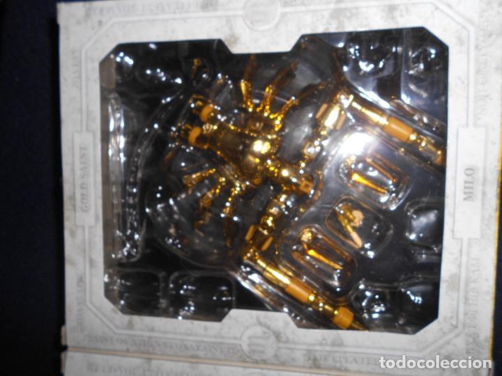 Figuas y Muñecos Caballeros del Zodiaco: CAJA original SIN MUÑECO virgo. CABALLEROS DEL ZODIACO contiene alguna pieza armadura - Foto 3 - 171167008