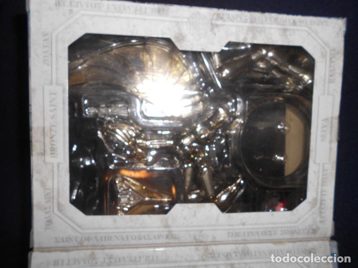 Figuas y Muñecos Caballeros del Zodiaco: CAJA original SIN MUÑECO pegaso. CABALLEROS DEL ZODIACO contiene alguna pieza armadura - Foto 3 - 171167074