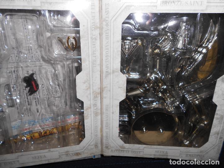 Figuas y Muñecos Caballeros del Zodiaco: CAJA original SIN MUÑECO pegaso. CABALLEROS DEL ZODIACO contiene alguna pieza armadura - Foto 4 - 171167074