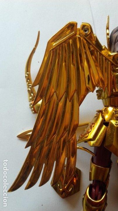 Figuas y Muñecos Caballeros del Zodiaco: FIGURA AIOLOS SAGITARIO ORO. CABALLEROS DEL ZODIACO SAINT SEIYA BANDAI - Foto 12 - 172468053