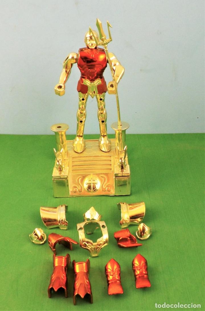 Figuas y Muñecos Caballeros del Zodiaco: Bandai Poseidon 1988 - Foto 2 - 177701627