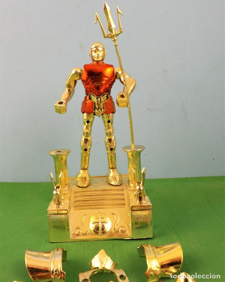 Figuas y Muñecos Caballeros del Zodiaco: Bandai Poseidon 1988 - Foto 4 - 177701627