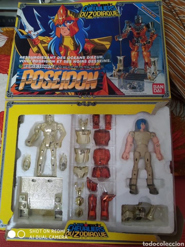 Figuas y Muñecos Caballeros del Zodiaco: los Caballeros del Zodiaco Poseidón Bandai según fotos - Foto 2 - 179154336