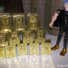 Figuas y Muñecos Caballeros del Zodiaco: SAINT SEIYA VINTAGE PANDORA BOX SPECIAL GOLD SET RARO CABALLEROS DEL ZODIACO. Lote 181965390