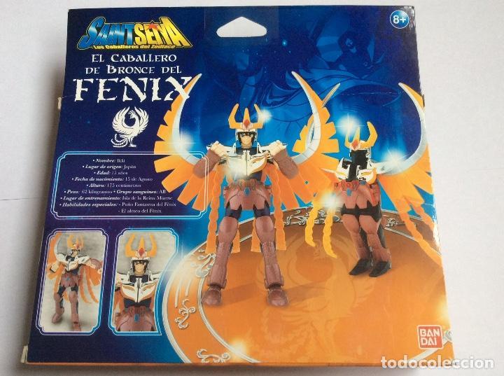 Figuas y Muñecos Caballeros del Zodiaco: Saint Seiya IKKI caballeros del zodiaco Bronce FENIX - Foto 3 - 186200726