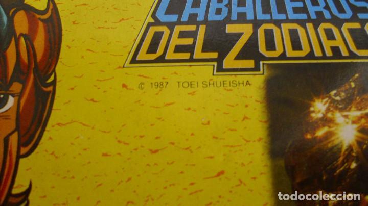 Figuas y Muñecos Caballeros del Zodiaco: ANTIGUA FIGURA CABALLEROS DEL ZODIACO LEO DE BANDAI EN CAJA 1987 COMPLETO - Foto 12 - 186395633