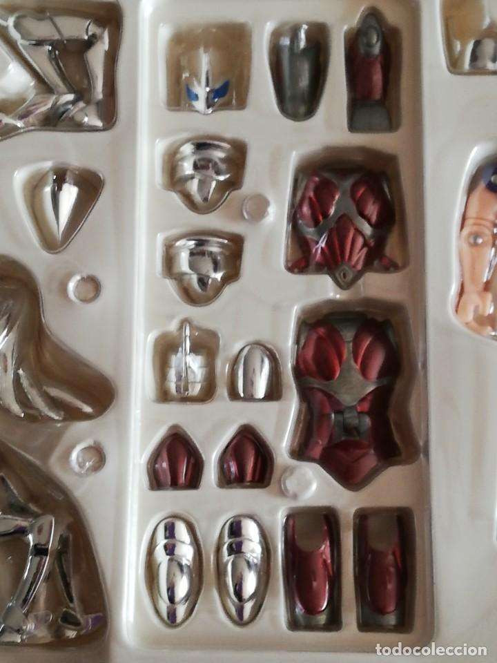 Figuas y Muñecos Caballeros del Zodiaco: Figura Caballero del Zodiaco Saint Seiya Beta Merak Bandai 2004 - Nueva en caja original - Foto 7 - 187306201