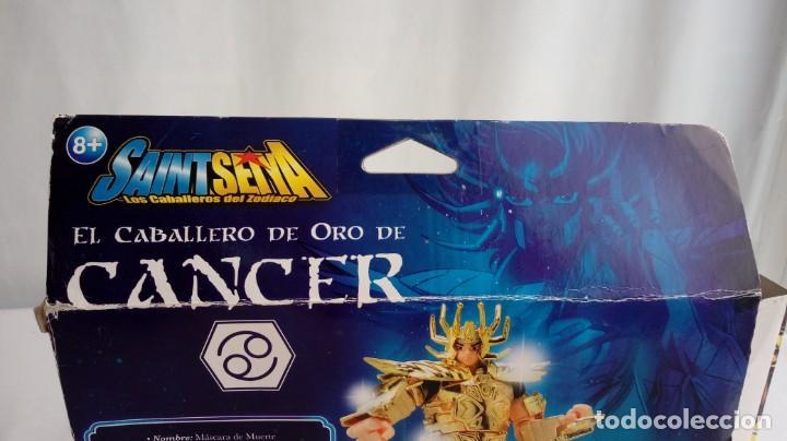Figuas y Muñecos Caballeros del Zodiaco: Caballero del zodiaco Cancer. - Foto 15 - 193572495