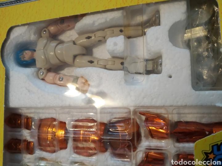 Figuas y Muñecos Caballeros del Zodiaco: Figura Caballero del Zodiaco Poseidón,año 1988.Caja, instrucciones.Bandai - Foto 7 - 257525335