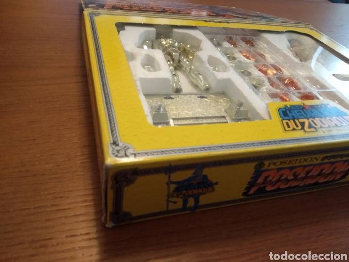 Figuas y Muñecos Caballeros del Zodiaco: Figura Caballero del Zodiaco Poseidón,año 1988.Caja, instrucciones.Bandai - Foto 9 - 257525335