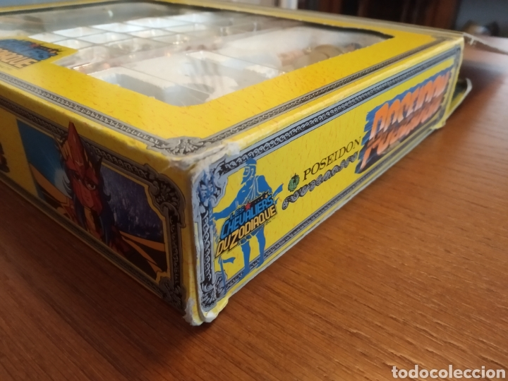 Figuas y Muñecos Caballeros del Zodiaco: Figura Caballero del Zodiaco Poseidón,año 1988.Caja, instrucciones.Bandai - Foto 10 - 257525335