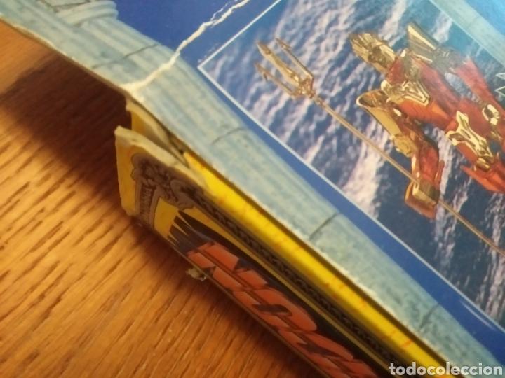 Figuas y Muñecos Caballeros del Zodiaco: Figura Caballero del Zodiaco Poseidón,año 1988.Caja, instrucciones.Bandai - Foto 16 - 257525335