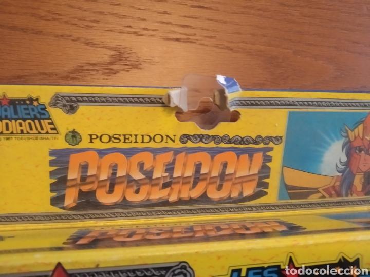 Figuas y Muñecos Caballeros del Zodiaco: Figura Caballero del Zodiaco Poseidón,año 1988.Caja, instrucciones.Bandai - Foto 19 - 257525335