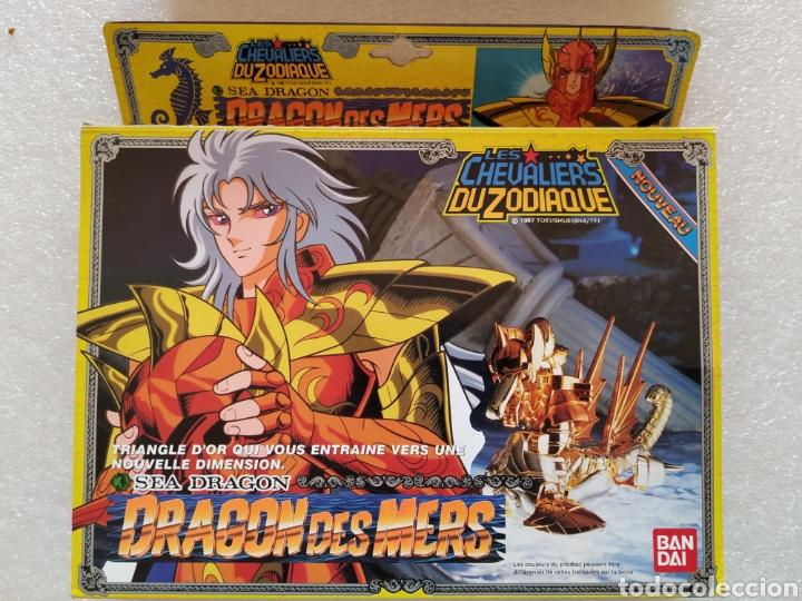 CABALLEROS DEL ZODIACO. BAN DAI, 1988 SEA DRAGÓN (NO COMPLETO) (Juguetes - Figuras de Acción - Caballeros del Zodiaco)