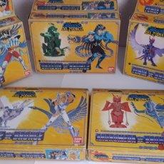 Figuas y Muñecos Caballeros del Zodiaco: LOTE 5 CABALLEROS DEL ZODIACO BRONCE BANDAI. Lote 204013816