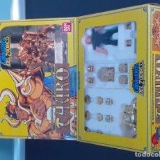 Figuas y Muñecos Caballeros del Zodiaco: CABALLERO DE TAURO. ORIGINAL DE BANDAI. Lote 269327778