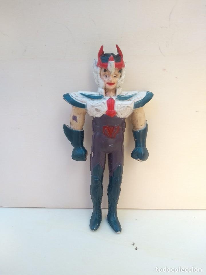 IKKI DEL FENIX- BOOTLEG PVC RIGIDO - CABALLEROS DEL ZODIACO - SAINT SEIYA - 12 CM - RAREZA (Juguetes - Figuras de Acción - Caballeros del Zodiaco)