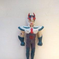 Figuas y Muñecos Caballeros del Zodiaco: IKKI DEL FENIX- BOOTLEG PVC RIGIDO - CABALLEROS DEL ZODIACO - SAINT SEIYA - 12 CM - RAREZA. Lote 216481772