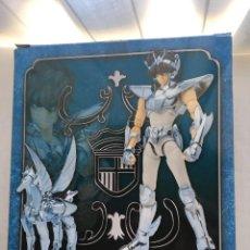 Figuas y Muñecos Caballeros del Zodiaco: CABALLERO DEL ZODIACO PEGASUS SAINT SEIYA COMPLETO COMO NUEVO FIGURA ORIGINAL COLOR EDITION KREATEN. Lote 218010712
