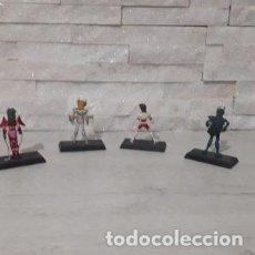 Figuas y Muñecos Caballeros del Zodiaco: LOTE DE 4 FIGURAS DE CABALLEROS DEL ZODIACO. Lote 218211780