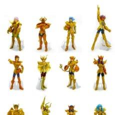 Figuas y Muñecos Caballeros del Zodiaco: BANDAI SAINT SEIYA ZODIACO GOLD SAINT SPECIAL GASHAPON SET DE 12 A ESTRENAR !!. Lote 218381826