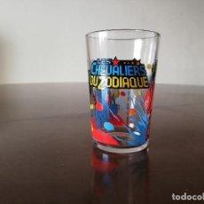 Figuas y Muñecos Caballeros del Zodiaco: VASO CABALLEROS DEL ZODIACO SAINT SEYA NOCILLA NUTELLA 1986. Lote 223823448