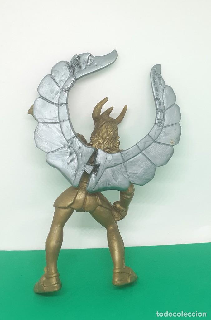 Figuas y Muñecos Caballeros del Zodiaco: CABALLEROS DEL ZODIACO FIGURA PLASTICO TOEI 1987 SHEUEISHA - Foto 6 - 224854477