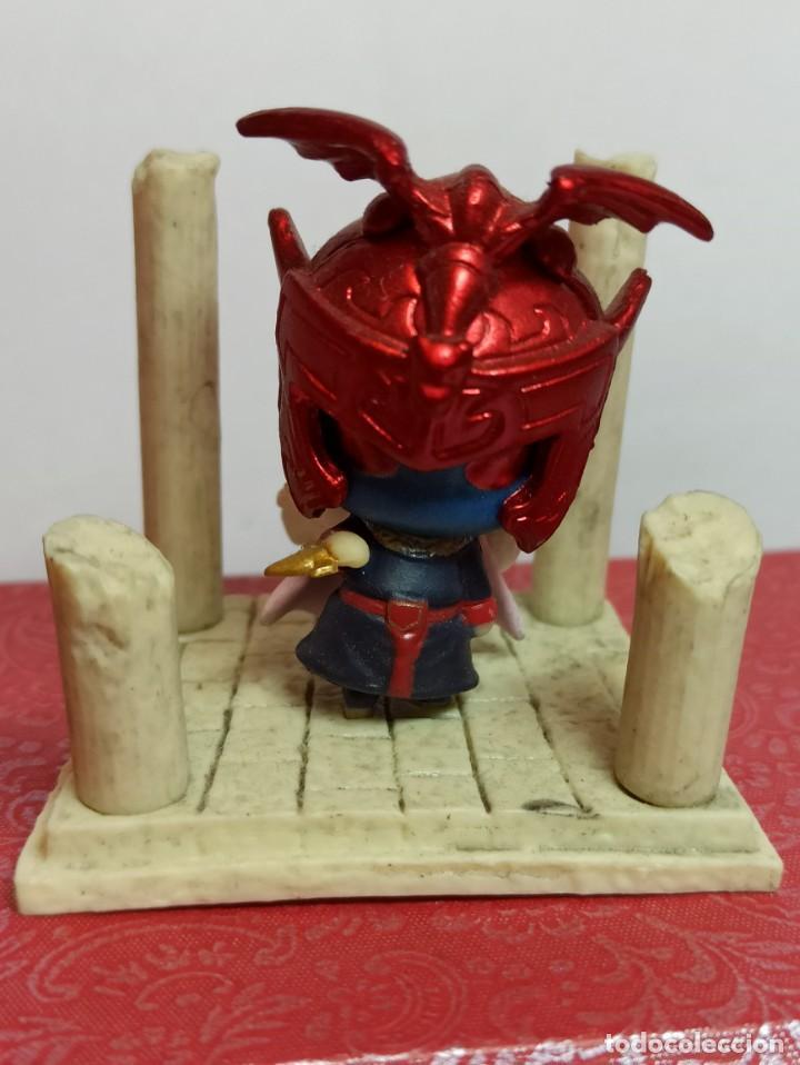 Figuas y Muñecos Caballeros del Zodiaco: 6 Miniaturas figuras de caballeros del zodiaco. - Foto 7 - 229430530