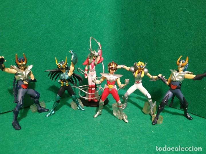 SANINT SEIYA GASHAPON BANDAI (Juguetes - Figuras de Acción - Caballeros del Zodiaco)