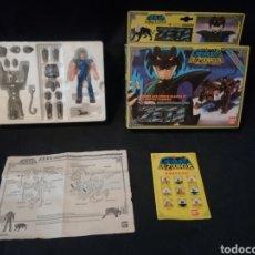 Figuas y Muñecos Caballeros del Zodiaco: ZETA. 1988. CABALLEROS DEL ZODIACO. BANDAI. COMPLETO.. Lote 238531850
