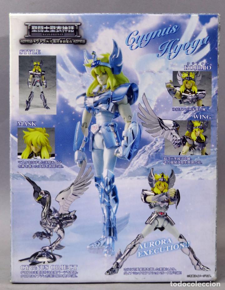 Figuas y Muñecos Caballeros del Zodiaco: Caballeros Zodiaco Saint Senya Hyoga Cisne Bandai 2006 Incompleto - Foto 6 - 242840645