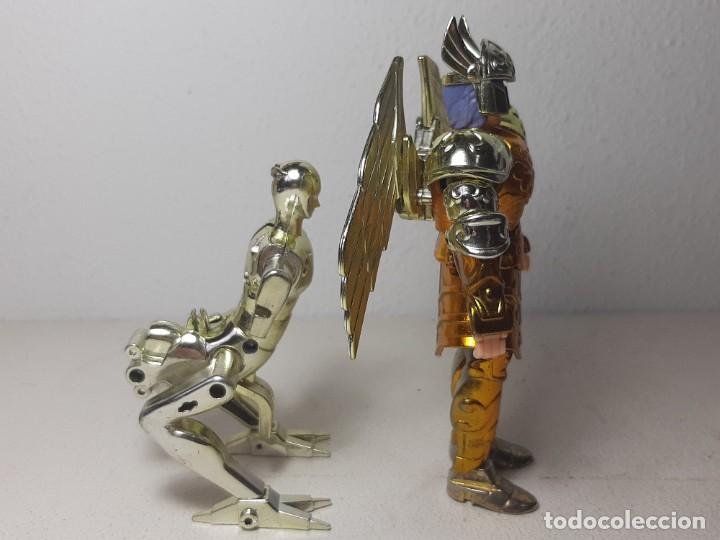 Figuas y Muñecos Caballeros del Zodiaco: CABALLEROS DEL ZODIACO - SAINT SEYA : ANTIGUA FIGURA SIREN SIRENE SORRENTO POSEIDON BANDAI AÑO 1989 - Foto 11 - 253718665