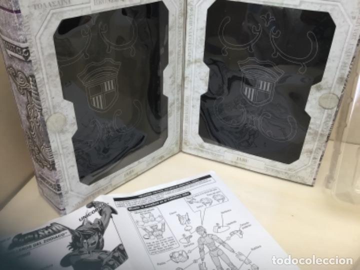 Figuas y Muñecos Caballeros del Zodiaco: Saint seiya myth cloth caja vacía Jabu unicornio - Foto 6 - 253952290
