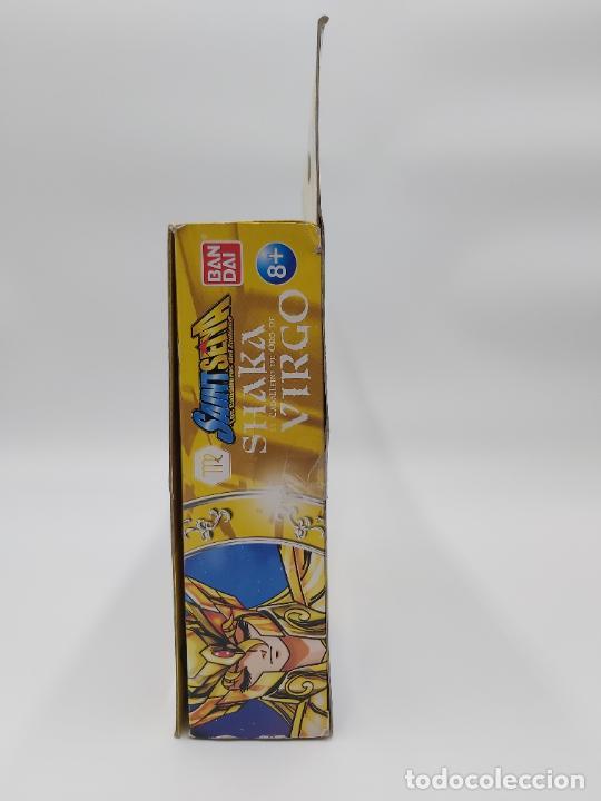 Figuas y Muñecos Caballeros del Zodiaco: SHAKA EL CABALLERO DE ORO DE VIRGO SAINT SEIYA LOS CABALLEROS DEL ZODIACO BANDAI NUEVO EN CAJA - Foto 5 - 255541990