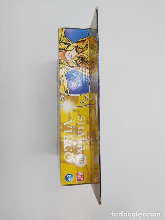 Figuas y Muñecos Caballeros del Zodiaco: SHAKA EL CABALLERO DE ORO DE VIRGO SAINT SEIYA LOS CABALLEROS DEL ZODIACO BANDAI NUEVO EN CAJA - Foto 7 - 255541990