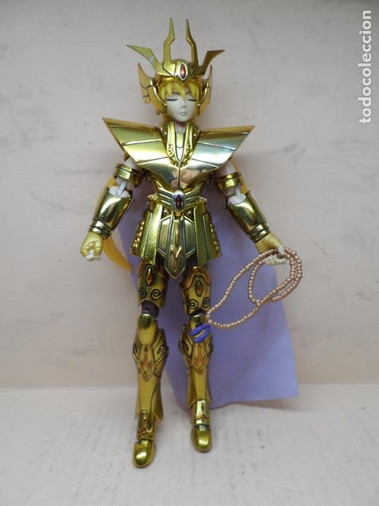 Figuas y Muñecos Caballeros del Zodiaco: FIGURA SAINT SEIYA (MYTH CLOTH) VIRGO DOHKO ARMADURA DE ORO - Foto 3 - 255569610