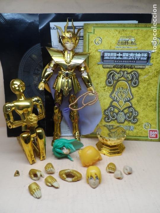 FIGURA SAINT SEIYA (MYTH CLOTH) VIRGO DOHKO ARMADURA DE ORO (Juguetes - Figuras de Acción - Caballeros del Zodiaco)