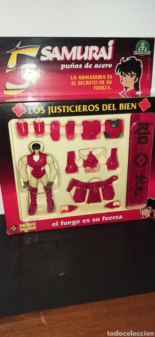 SAMURAY HÉCTOR RIO CABALLERO ZODIACO DE GIOCHI PREZIOSI AÑOS 80 NUEVO I (Juguetes - Figuras de Acción - Caballeros del Zodiaco)