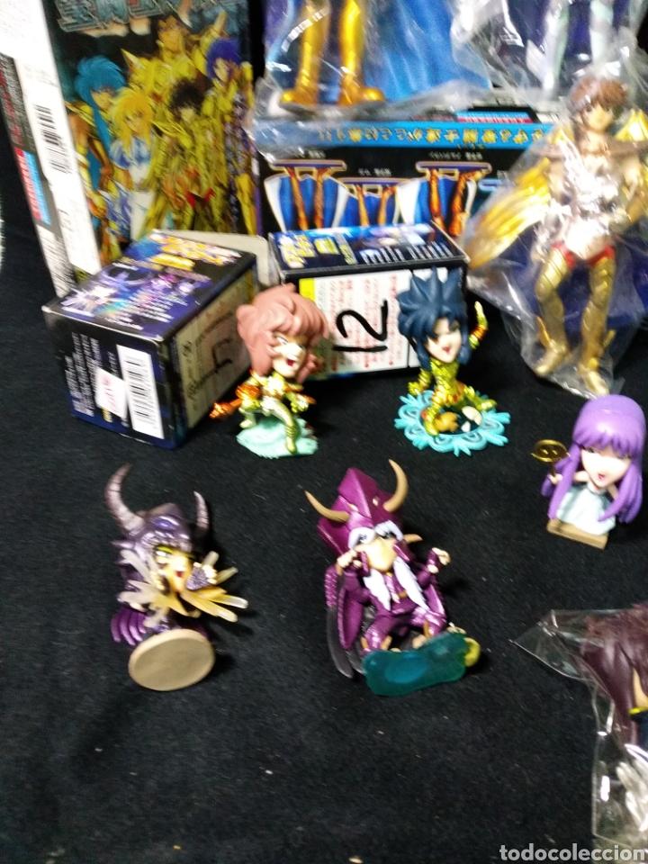 Figuas y Muñecos Caballeros del Zodiaco: Lote de caballeros del zodíaco en sus cajas originales , - Foto 3 - 259027035