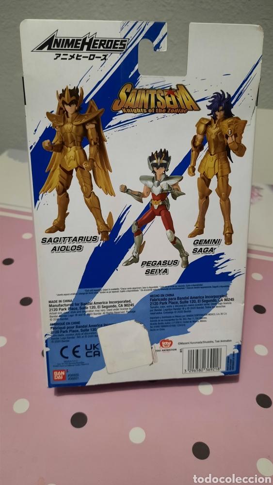 Figuas y Muñecos Caballeros del Zodiaco: Figura Anime Heroes Pegasus Seiya Bandai. - Foto 2 - 262798035