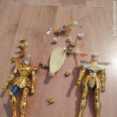 Figuas y Muñecos Caballeros del Zodiaco: 2 CABALLEROS DEL ZODIACO. Lote 263037050