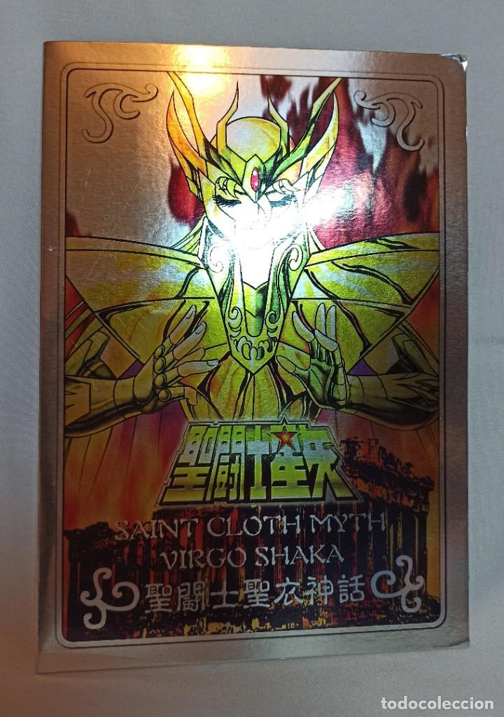 Figuas y Muñecos Caballeros del Zodiaco: Placa de Caballeros del zodiaco Virgo Shaka - Foto 3 - 265444484