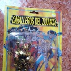 Figuas y Muñecos Caballeros del Zodiaco: BLISTER BOOTLEG CABALLEROS DEL ZODIACO. Lote 274401873