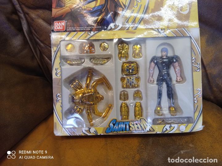 Figuas y Muñecos Caballeros del Zodiaco: Los caballeros del zodiaco. El caballero de oro de cáncer. Bandai 2006.Sin usar - Foto 2 - 289331673
