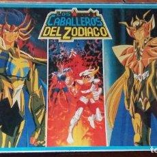 Figuas y Muñecos Caballeros del Zodiaco: LOS CABALLEROS DEL ZODIACO JUEGO DE MESA TOEI ANIMATIÓN AÑO 1988 COMO NUEVO VER FOTOS. Lote 295734183