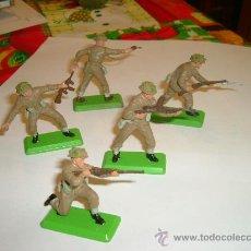 Figuras de Goma y PVC: BRITAINS-INFANTERIA INGLESA.. Lote 25273820